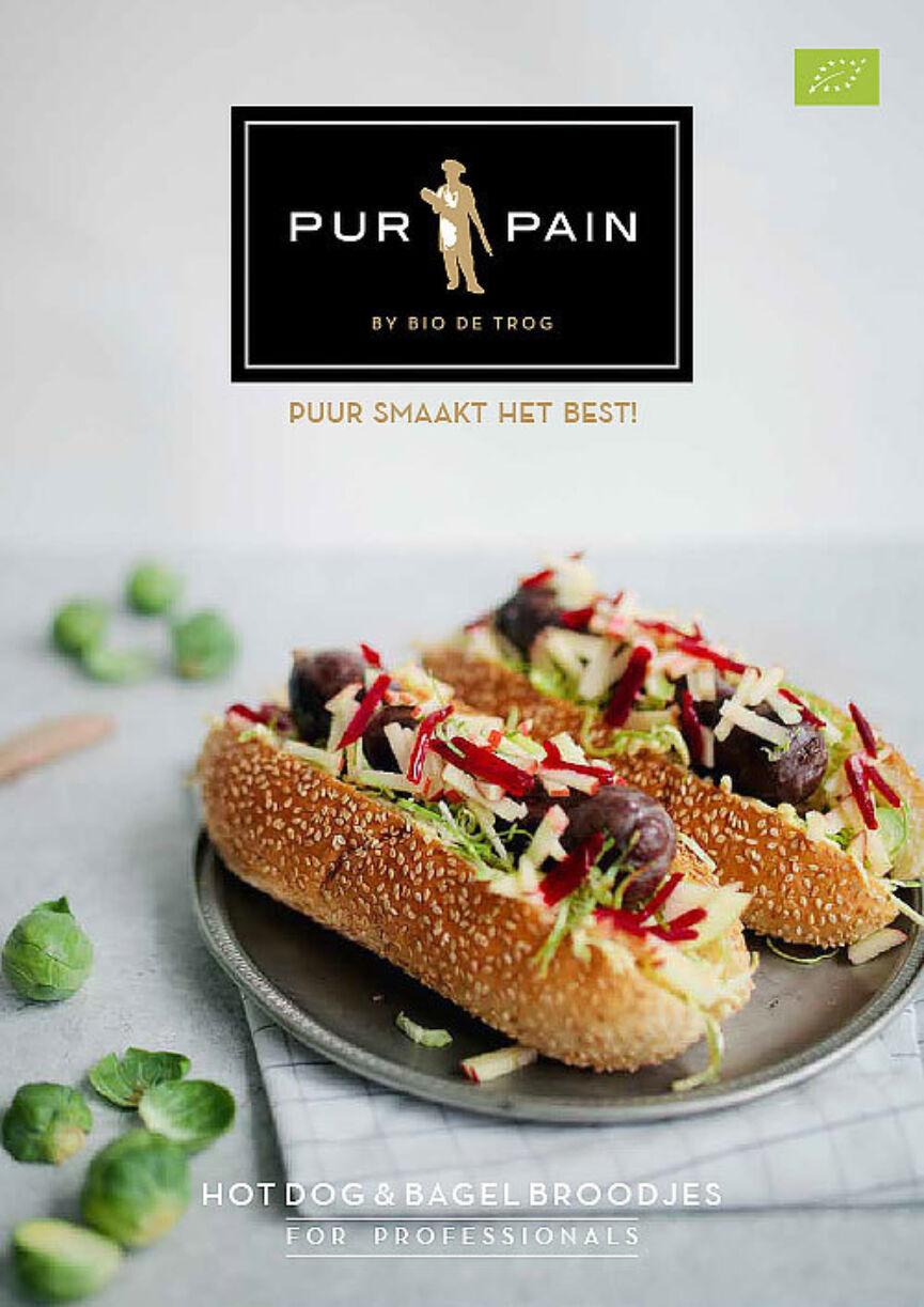 Assortiment Bio Hotdog En Bagelbroodjes