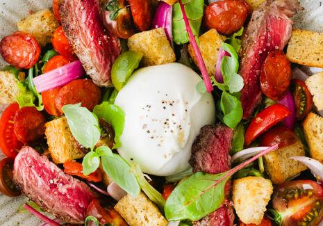 De Trog Steak Chorizo Panzanella