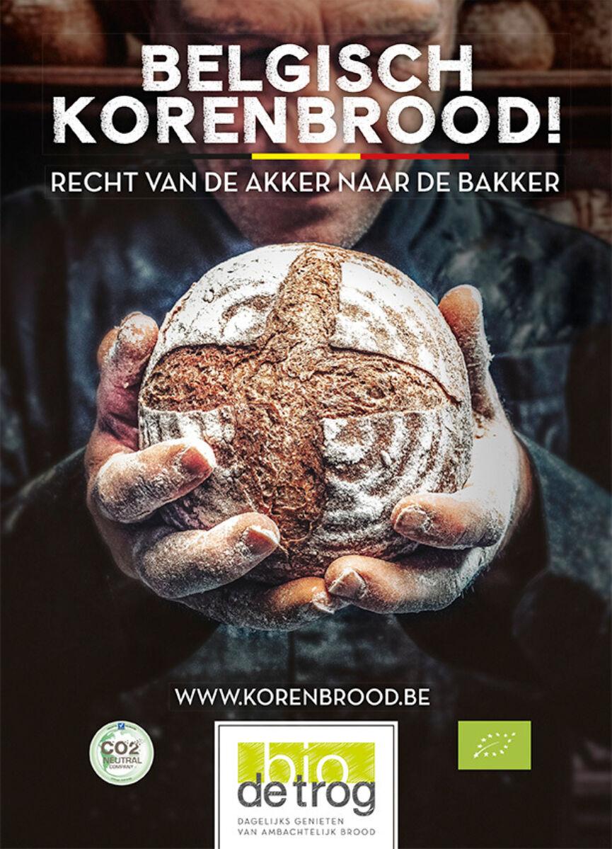 Belgisch Korenbrood Affiche Nl Lr