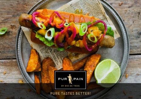 De Trog Pur Pain Vegan Sandwich Hot Dog Tropical Thumbnail
