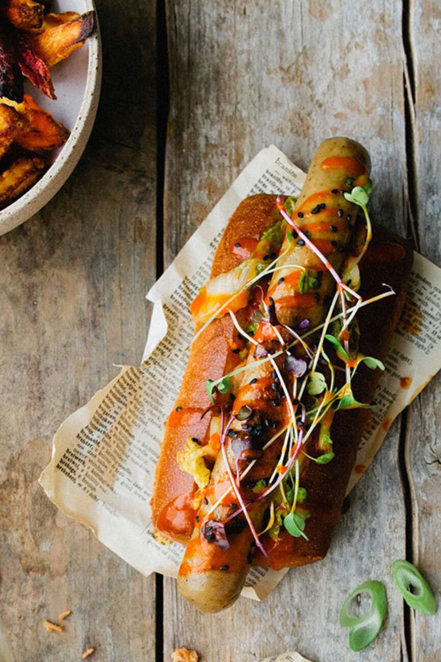 De Trog Pur Pain Asian Twisted Hot Dog